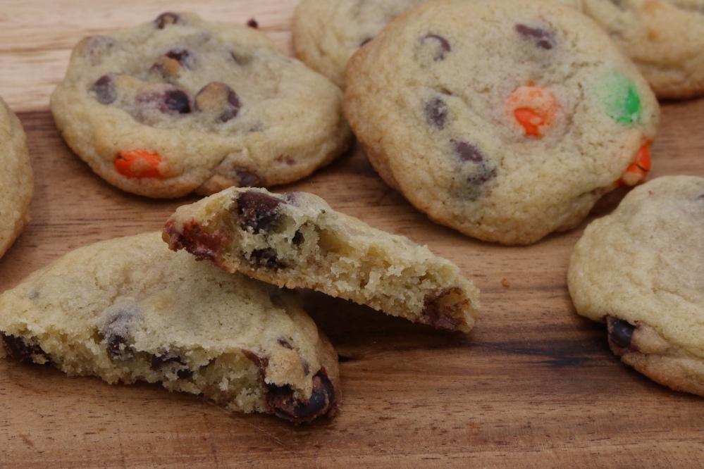 M&M Chip Cookies 3-5-2019