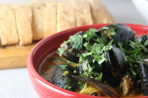 Mussels Charmoula 10-24-2018